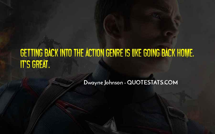 Quotes About The Action Genre #249827