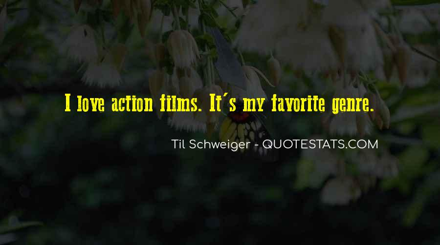 Quotes About The Action Genre #602001