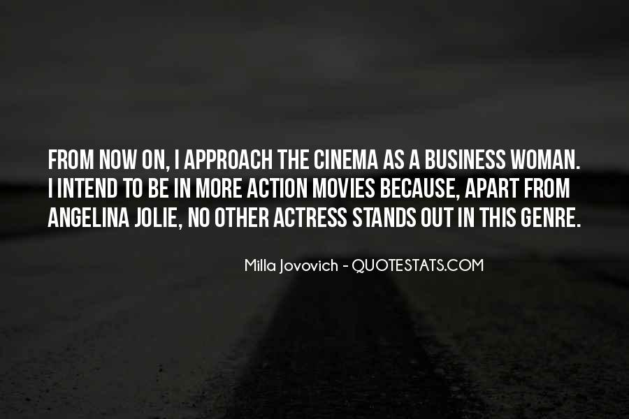 Quotes About The Action Genre #621896
