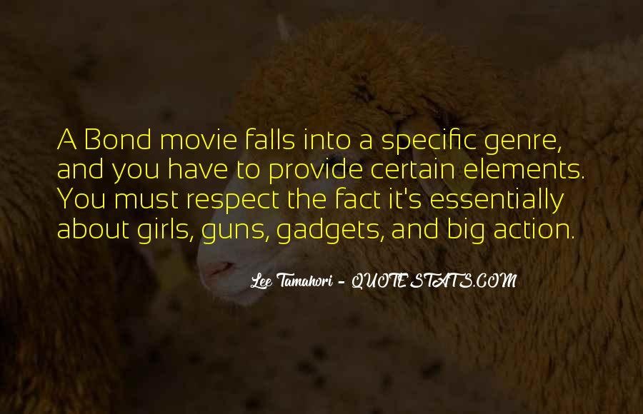 Quotes About The Action Genre #665403