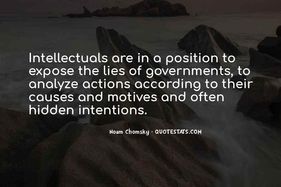 Quotes About Intentions And Actions #1212831