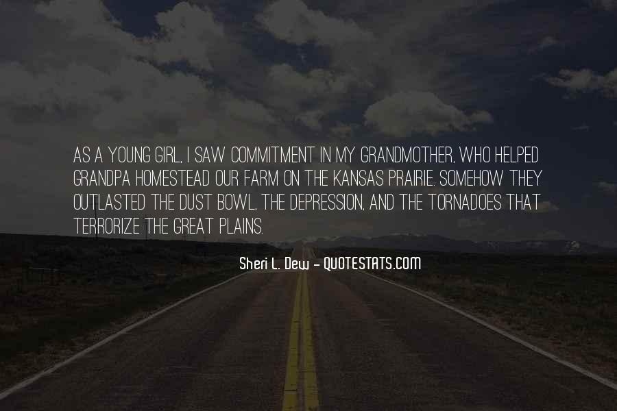 Quotes About The Dust Bowl #863998
