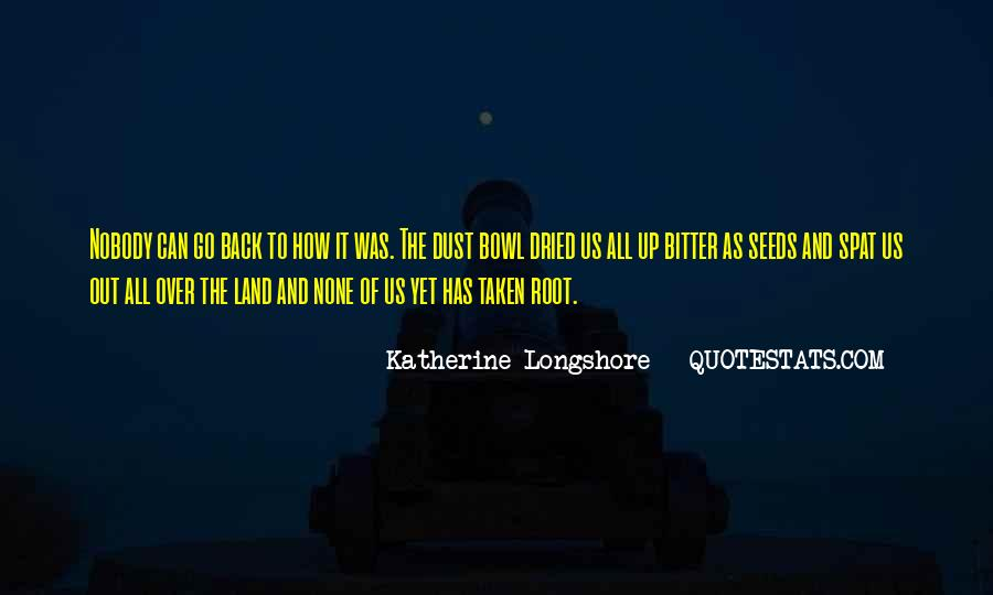 Quotes About The Dust Bowl #934005