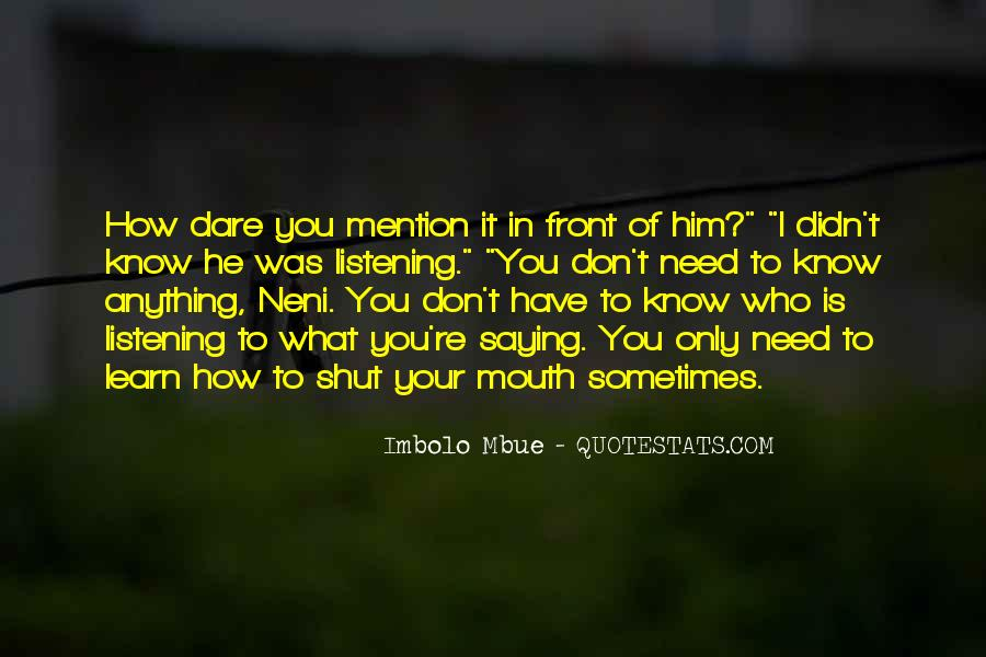 Quotes About You Don't Need Him #343486