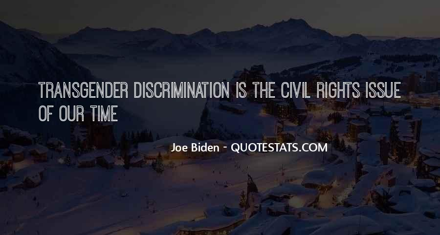 Quotes About Transgender Rights #470171