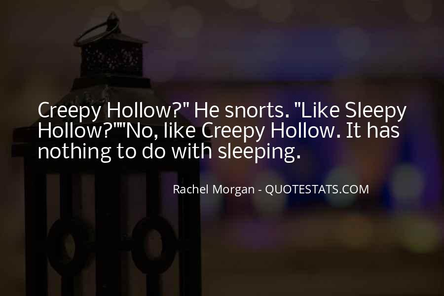 Quotes About Sleepy Hollow #155505