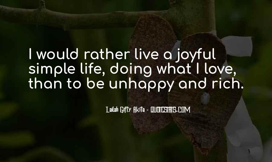 Quotes About Unhappy Work #1281625