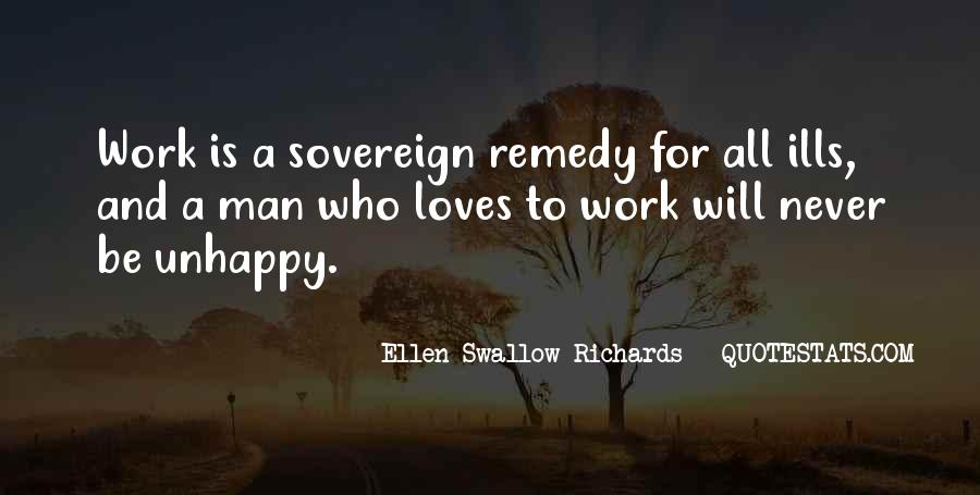Quotes About Unhappy Work #1436943