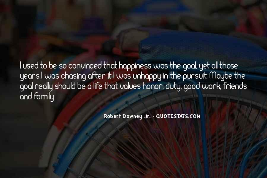 Quotes About Unhappy Work #1785963