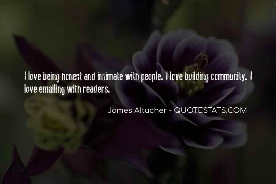 Quotes About Community Love #105507
