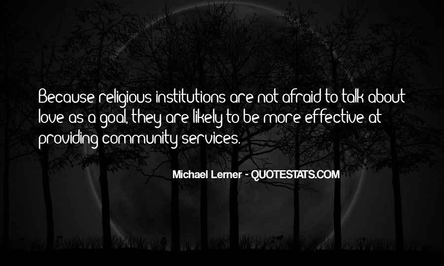 Quotes About Community Love #119789