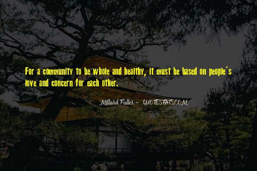 Quotes About Community Love #163598