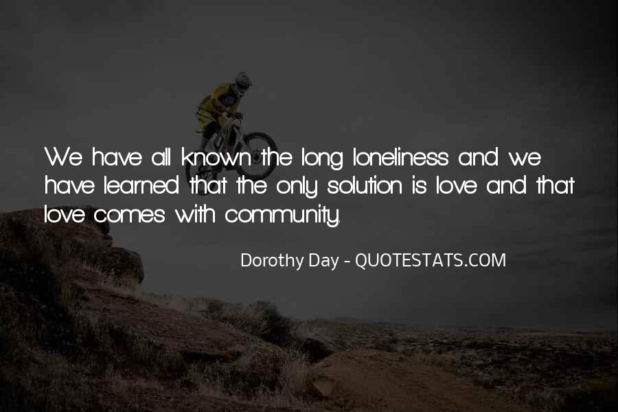 Quotes About Community Love #172817