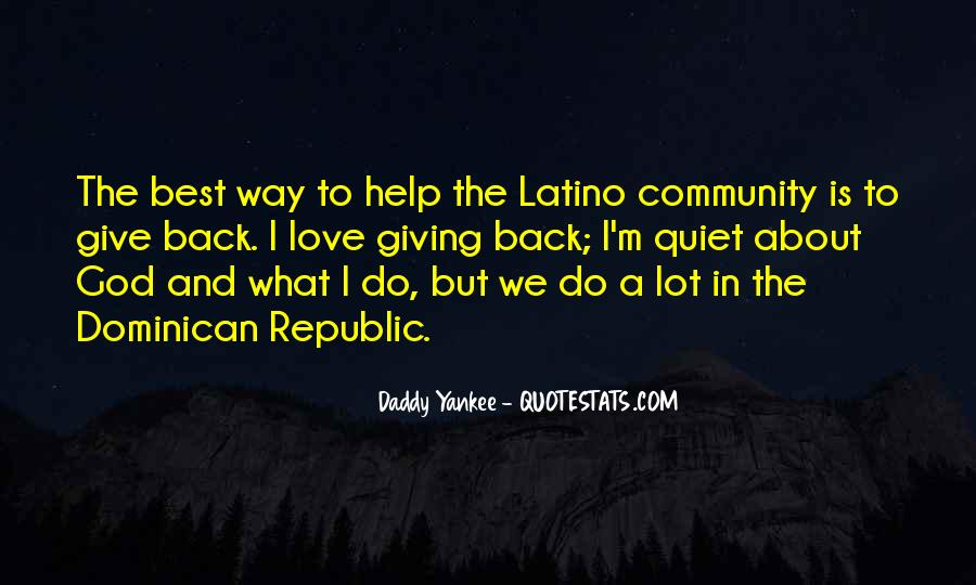 Quotes About Community Love #196218