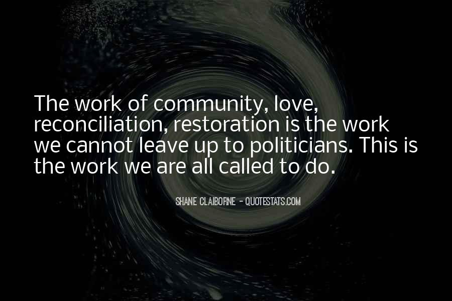 Quotes About Community Love #225679
