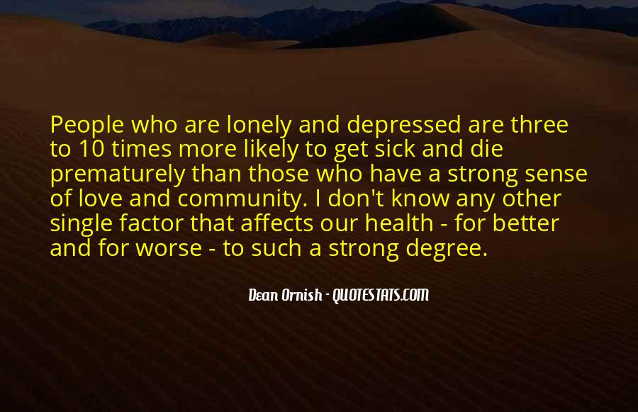 Quotes About Community Love #228808