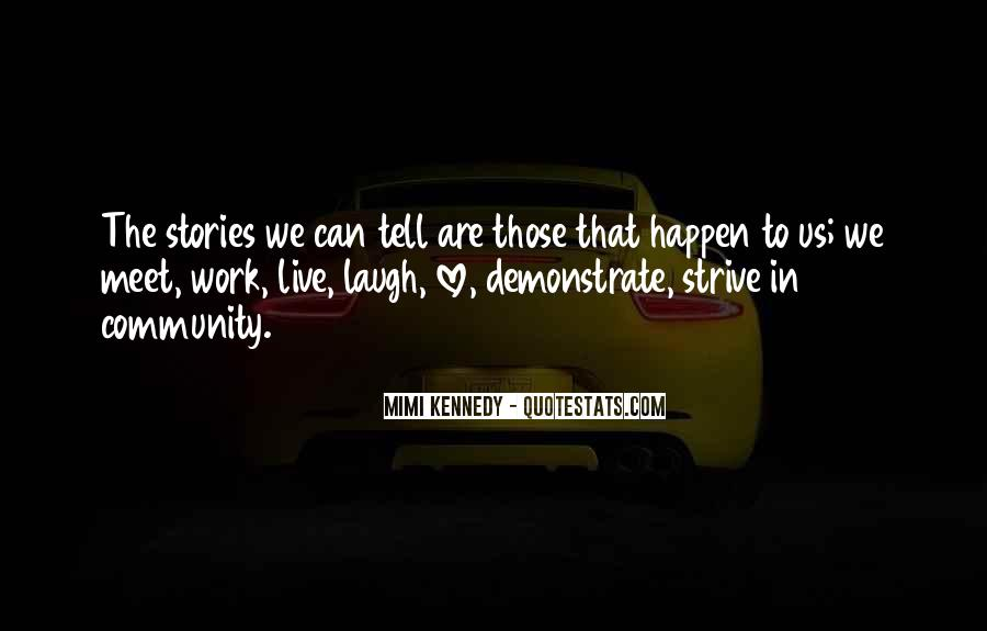 Quotes About Community Love #290843