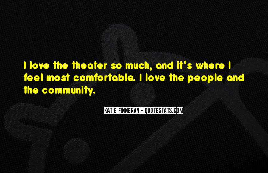Quotes About Community Love #318282