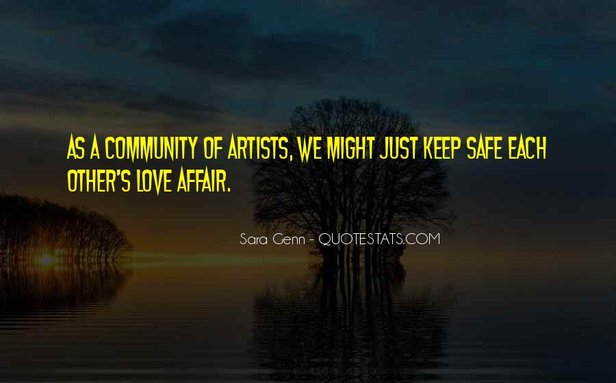 Quotes About Community Love #332934
