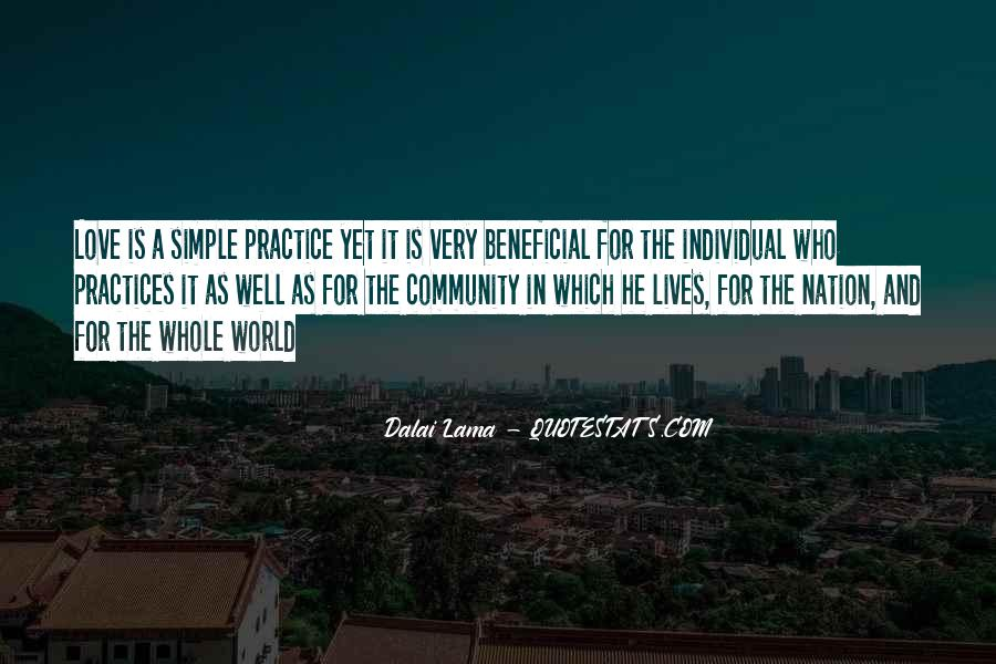 Quotes About Community Love #34007