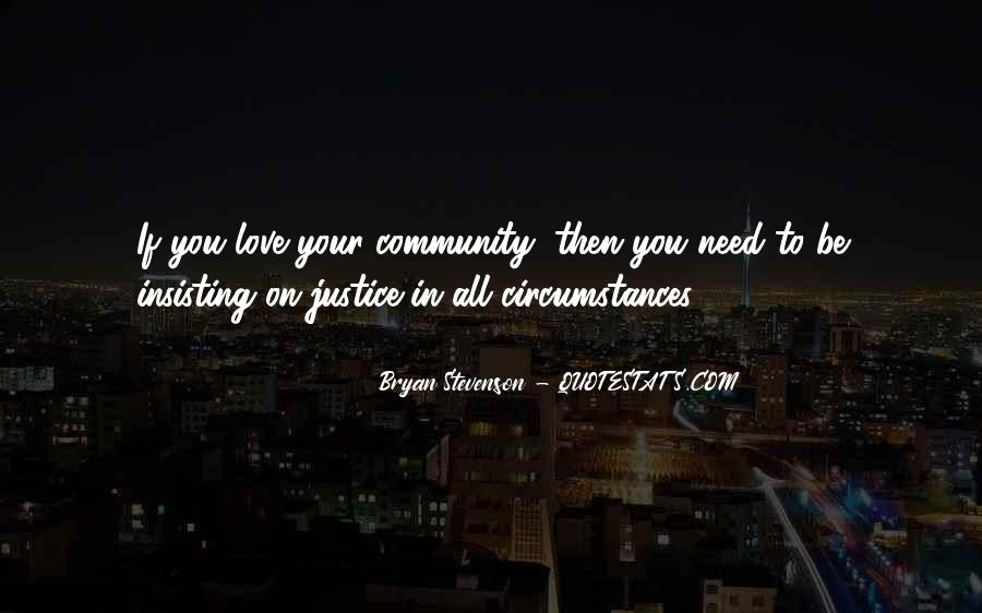Quotes About Community Love #408009