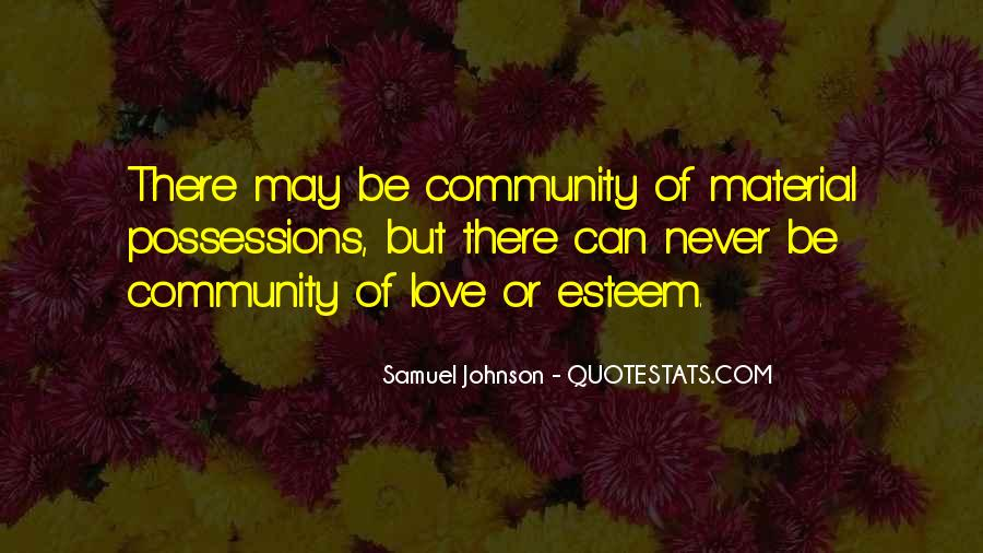 Quotes About Community Love #424008
