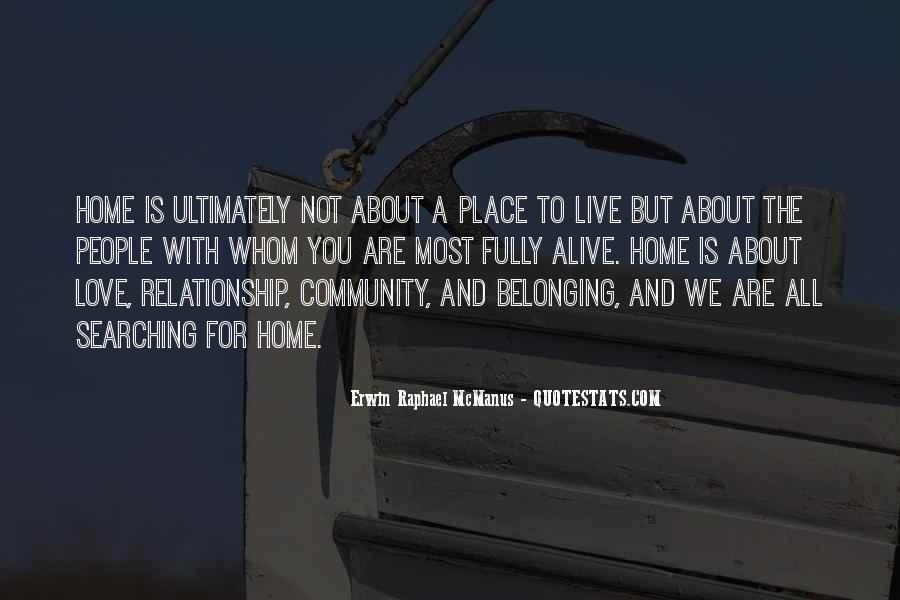 Quotes About Community Love #532627