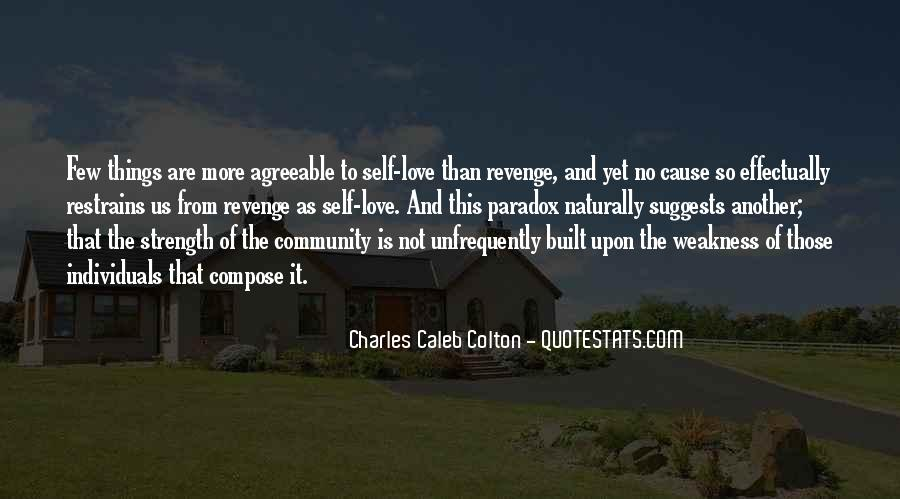 Quotes About Community Love #564097