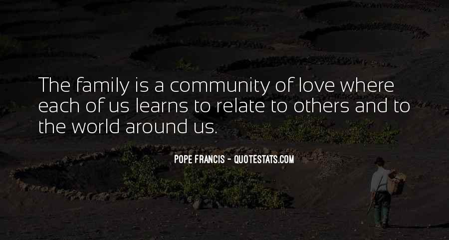 Quotes About Community Love #646057