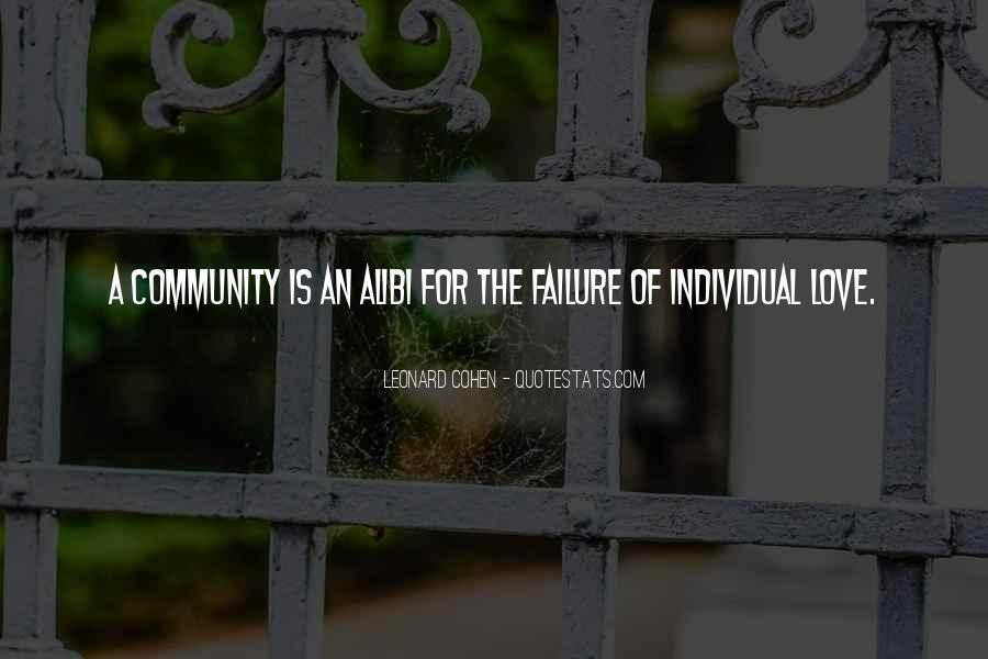 Quotes About Community Love #652725