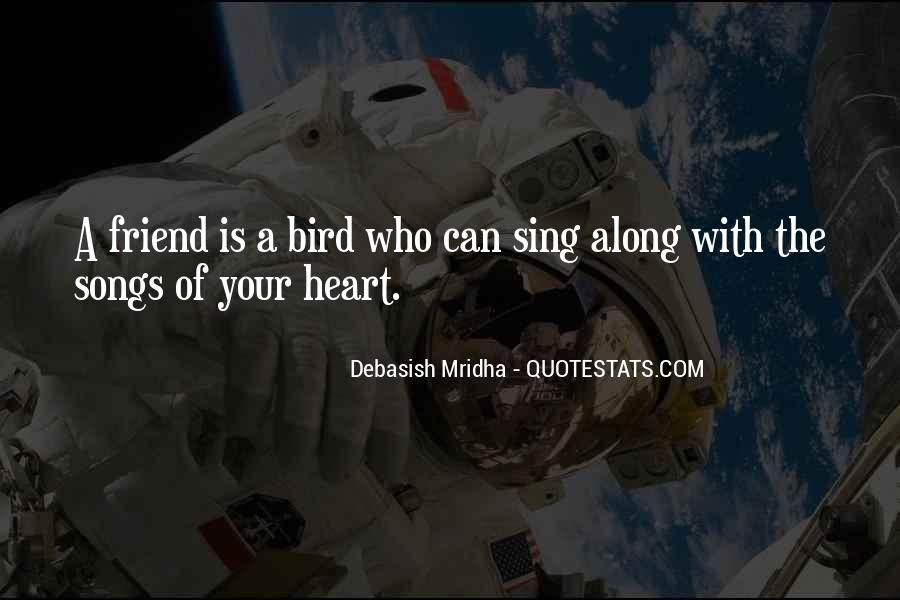Quotes About Songs And Friendship #835822