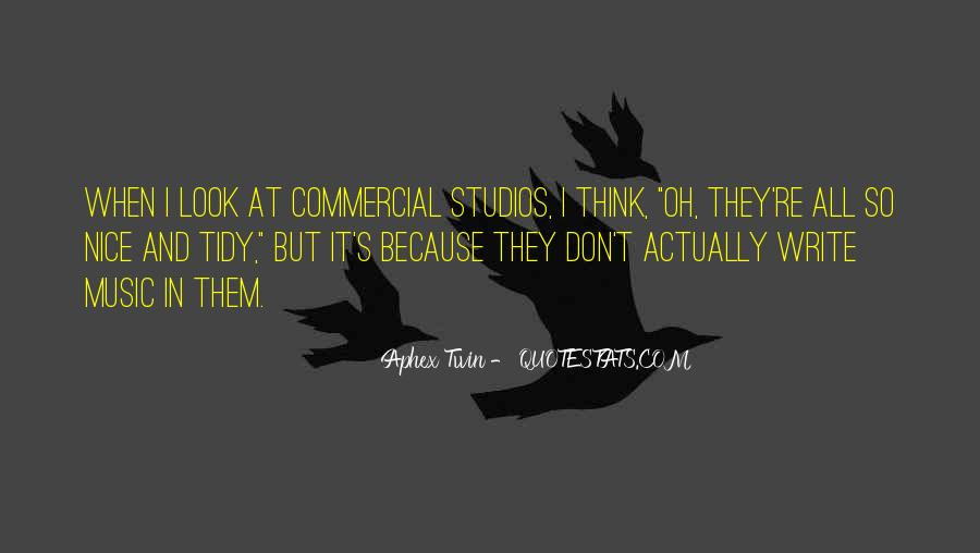 Quotes About Music Studios #1281339