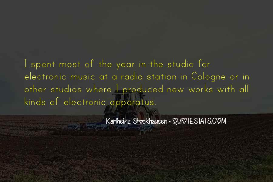 Quotes About Music Studios #248107