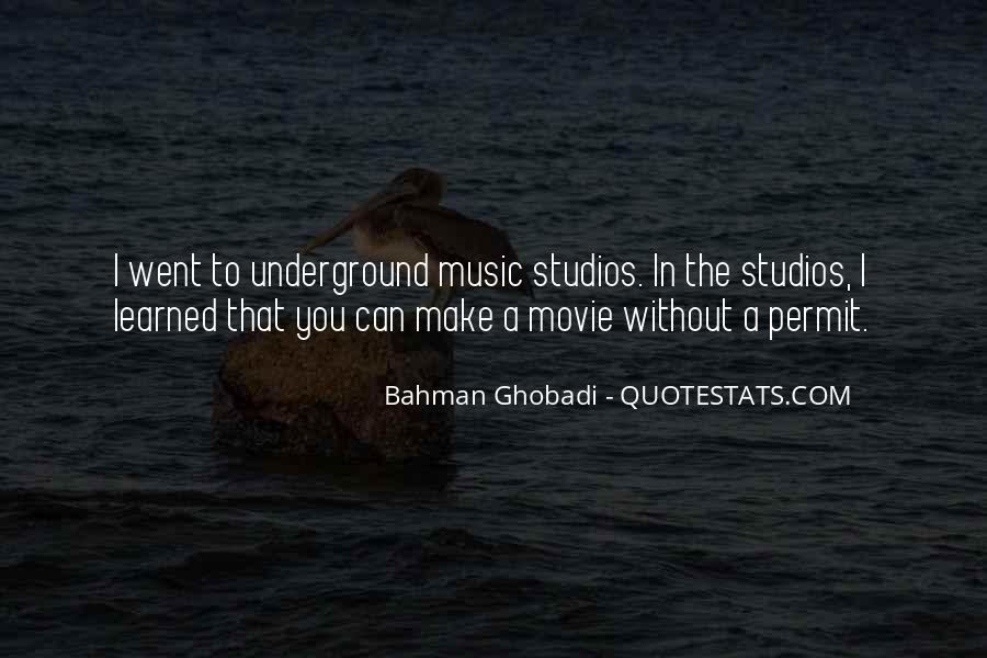 Quotes About Music Studios #424100