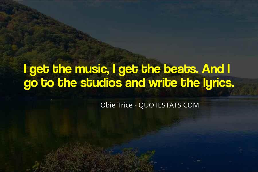 Quotes About Music Studios #459641