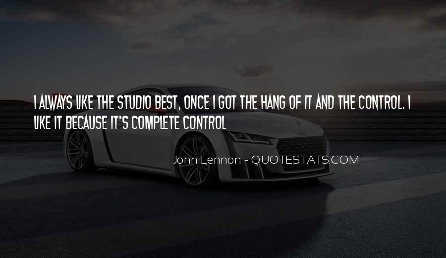 Quotes About Music Studios #832606