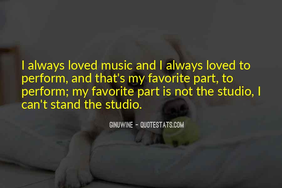 Quotes About Music Studios #863831