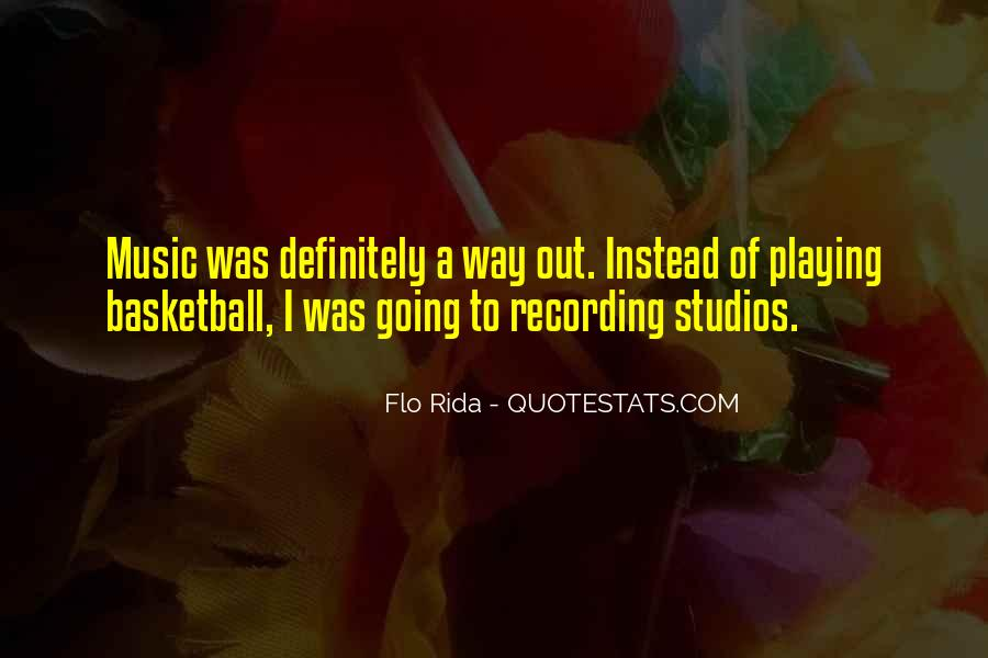 Quotes About Music Studios #934453