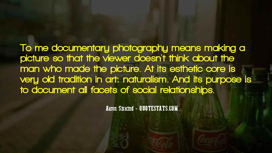 Quotes About Social Documentary Photography #1844506