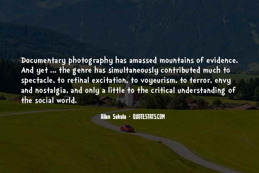 Quotes About Social Documentary Photography #814453