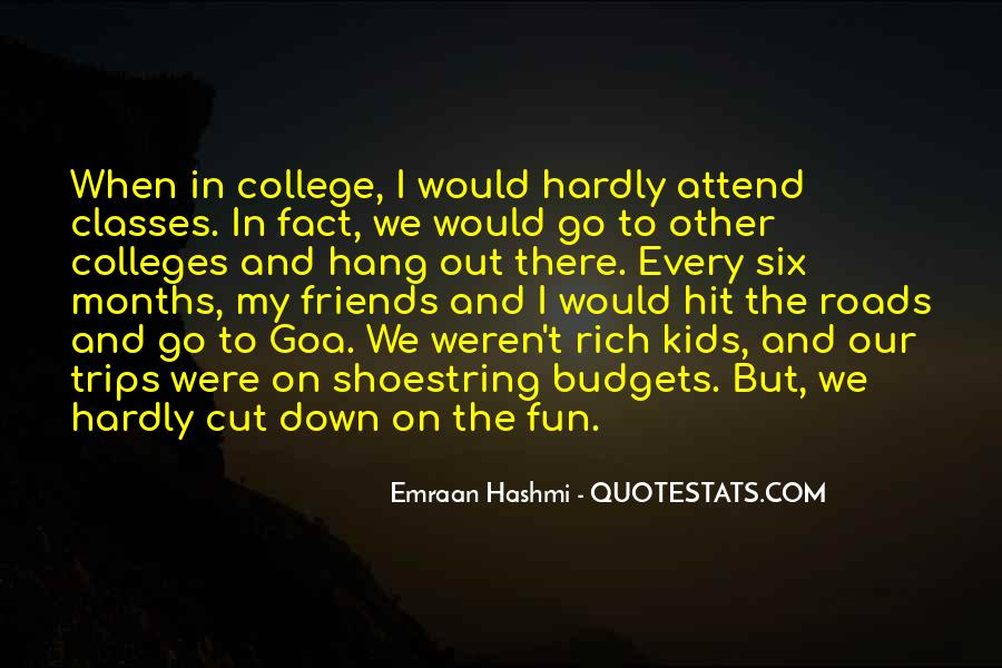 Quotes About Fun Trips #934693