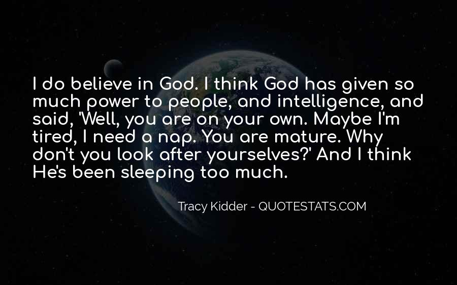 Quotes About God's Power #111057