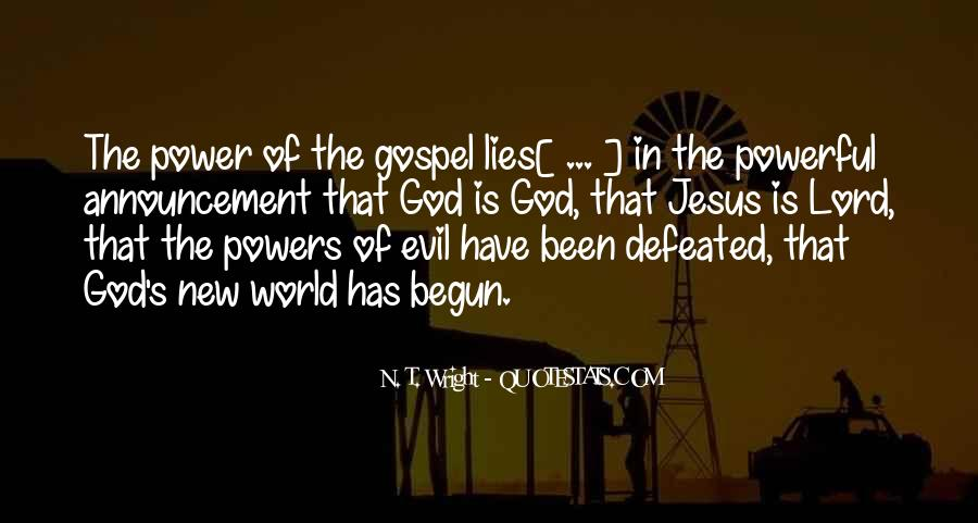 Quotes About God's Power #114215