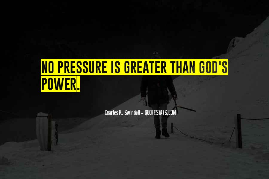 Quotes About God's Power #116276