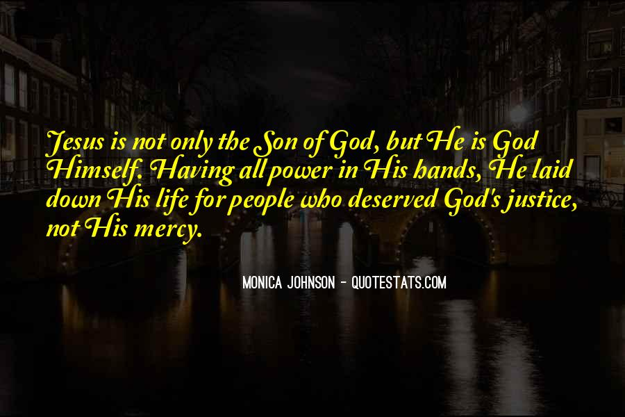 Quotes About God's Power #131954