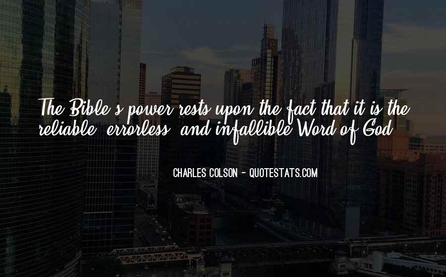 Quotes About God's Power #145543