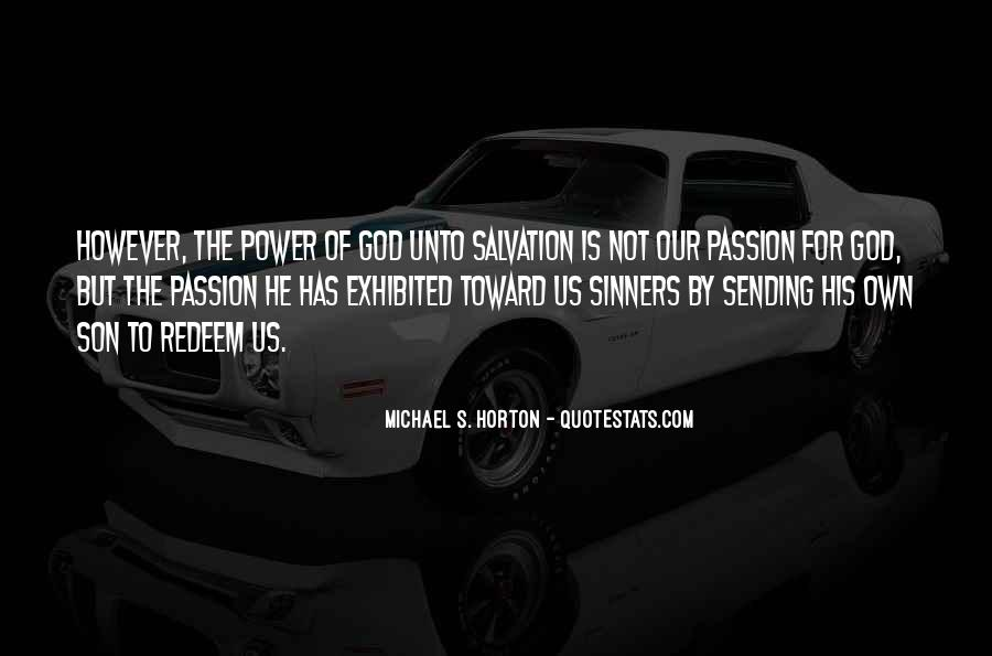 Quotes About God's Power #149199