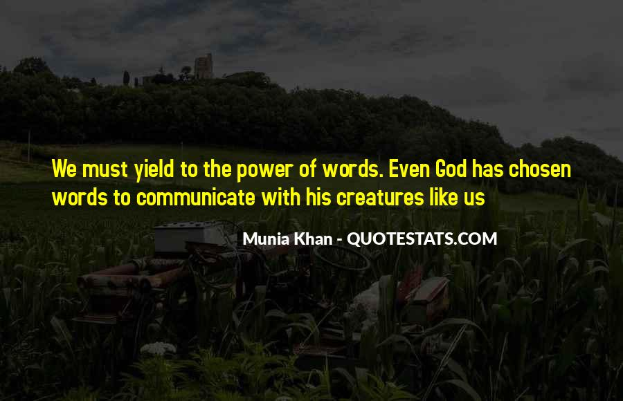 Quotes About God's Power #152566
