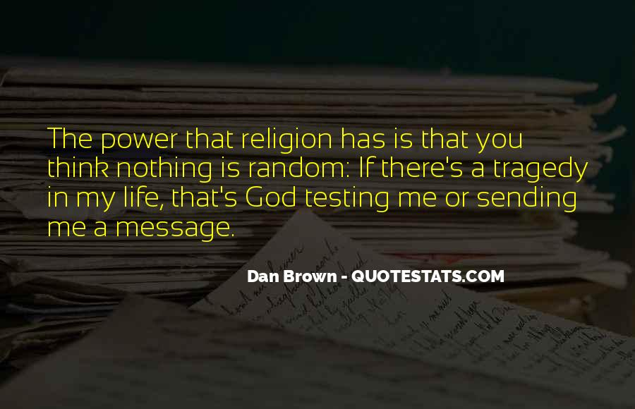 Quotes About God's Power #156676