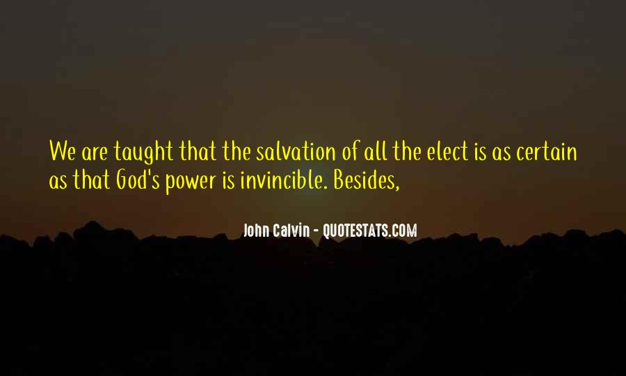 Quotes About God's Power #160298